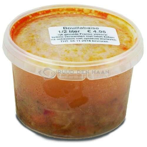 Bakje bouillabaise van een halve liter