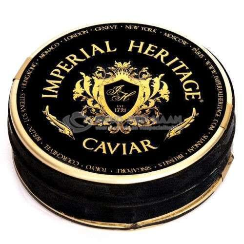 Blikje kaviaar van Imperial Heritage