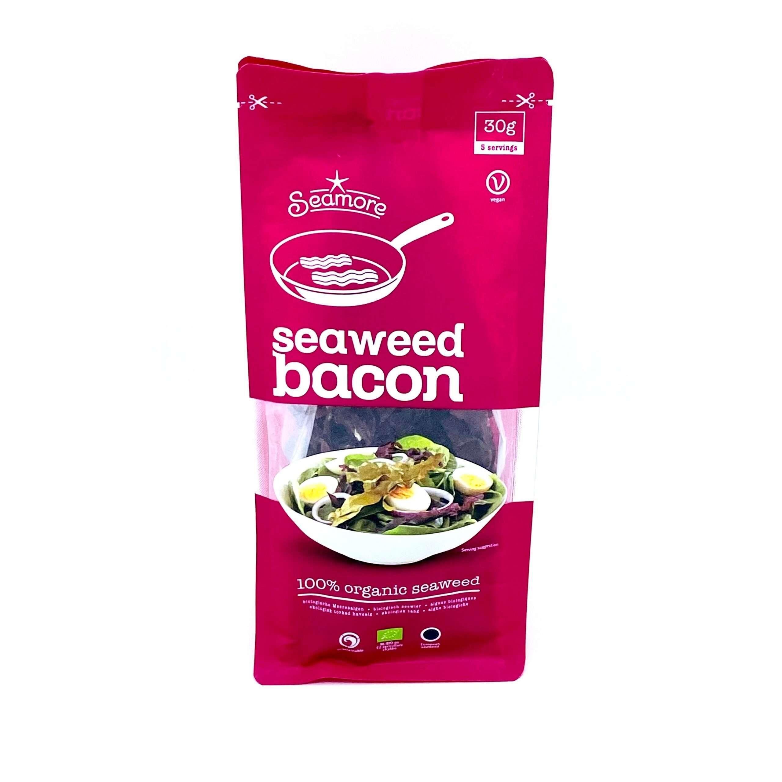 Verpakte zeewier bacon