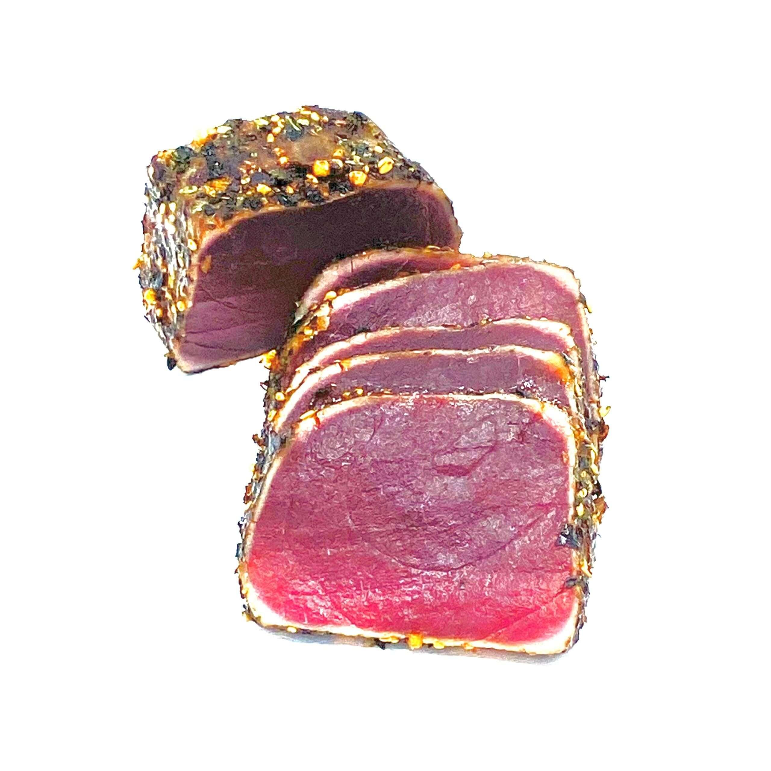 Verse tonijn, tataki bereid